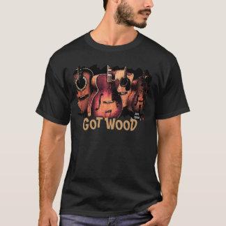 guitare-pièce en t, OBTENUE LE BOIS T-shirt