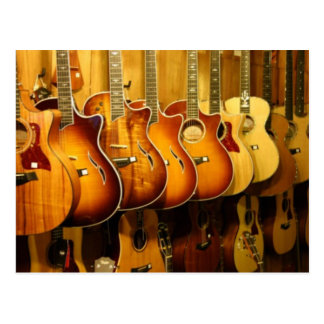 Guitares Carte Postale