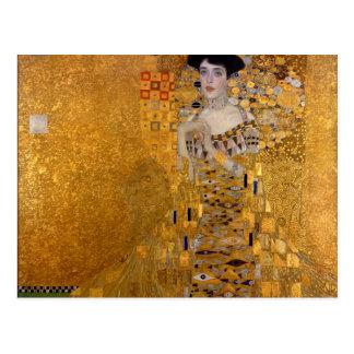 Gustav Klimt - Adele Bloch-Bauer I. Cartes Postales