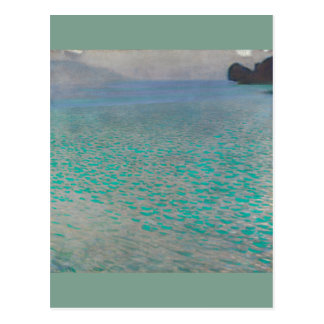 Gustav Klimt Attersee Carte Postale