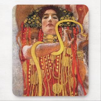 Gustav Klimt - déesse de médecine de Hygieia de Tapis De Souris