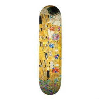 Gustav Klimt l art Nouveau de baiser Skateboard