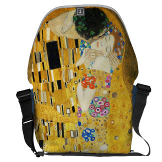 Gustav Klimt la peinture vintage de Nouveau d'art Sacoche