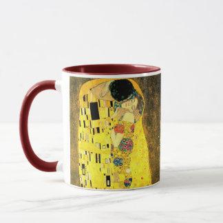 Gustav Klimt - la tasse 2 de baiser