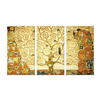 Gustav Klimt l'arbre de l'art vintage Nouveau de Toiles