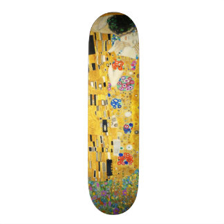 Gustav Klimt l'art Nouveau de baiser Skateboard