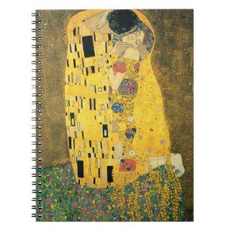 GUSTAV KLIMT - Le baiser 1907 Carnet
