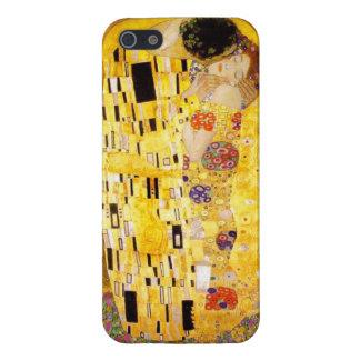 Gustav Klimt le cas de l'iPhone 5 de baiser Coques iPhone 5