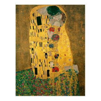 Gustav Klimt le cru de GalleryHD de baiser Cartes Postales