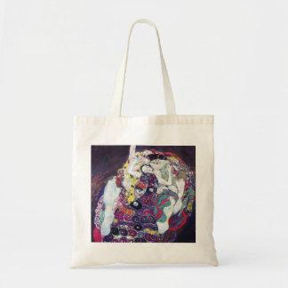Gustav Klimt le sac fourre-tout à Vierge