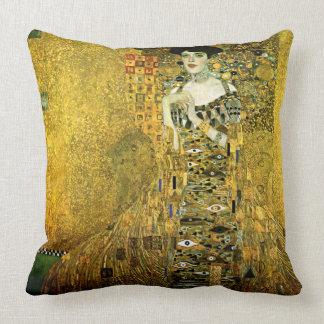 Gustav Klimt Madame d'or Cushions Oreillers