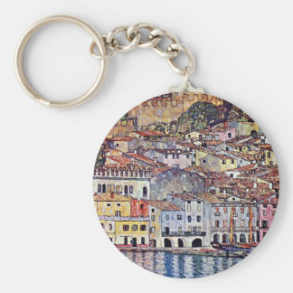 Gustav Klimt - Malcesine au policier Italie de lac Porte-clés