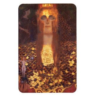 Gustav Klimt Minerva Pallas Athéna Magnet Souple
