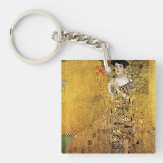 GUSTAV KLIMT - Portrait d'Adele Bloch-Bauer 1907 Porte-clefs