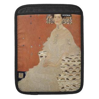 GUSTAV KLIMT - Portrait de Fritza Riedler 1906 Housse Pour iPad