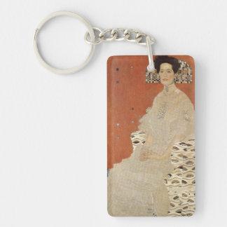 GUSTAV KLIMT - Portrait de Fritza Riedler 1906 Porte-clefs
