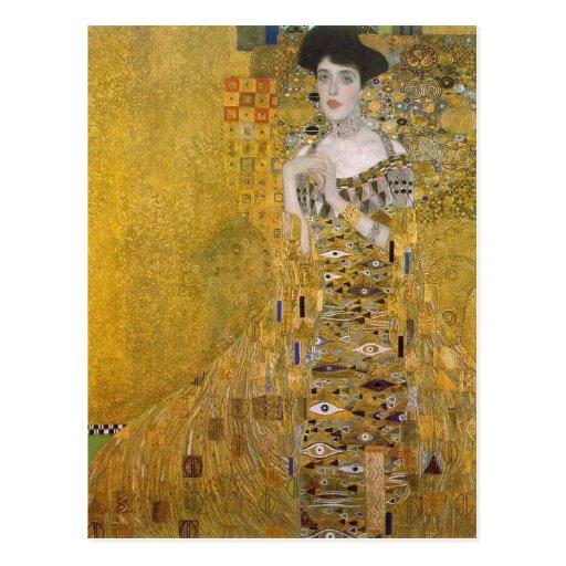 Gustav récapitulatif Klimt Catal ? : Retrat de l'A Cartes Postales