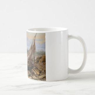 Gustave Courbet - le bateau de pêche Mug