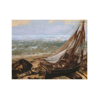 Gustave Courbet - le bateau de pêche Toiles