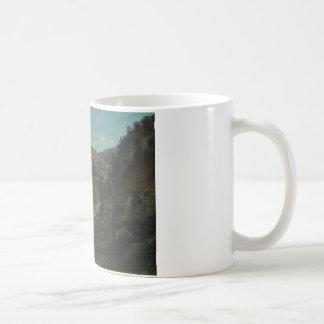 Gustave Courbet - vallée de Laloue Mug