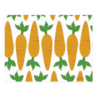 Gwennie le petit pain : Champ des carottes Carte Postale