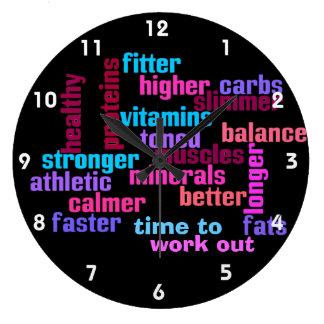 gymnase ou horloge de motivation de sports