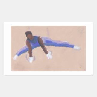 Gymnaste, autocollants