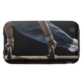 Gymnaste balançant sur le cheval de pommeau coques iPhone 3 tough