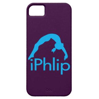 gymnaste bleu de gymnastique d'iPhlip Coques iPhone 5