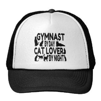 Gymnaste d'amoureux des chats casquette de camionneur