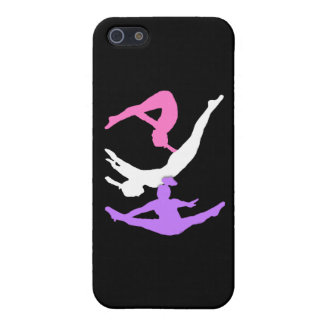 Gymnaste de trempoline iPhone 5 case