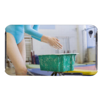 Gymnaste marquant ses mains coque iPod touch Case-Mate