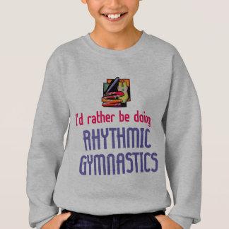 Gymnaste rythmique plutôt sweatshirt