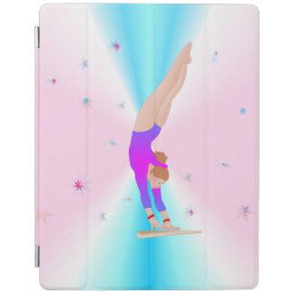 Gymnastique - coque ipad de fille de mouche