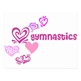 Gymnastique d'amour carte postale