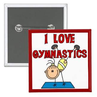 Gymnastique d'amour de la fille I Badges