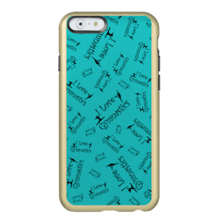 Gymnastique d'amour de la turquoise I Coque iPhone 6 Incipio Feather® Shine