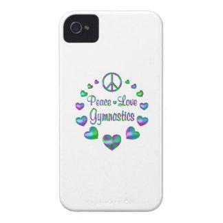 Gymnastique d'amour de paix coques iPhone 4 Case-Mate