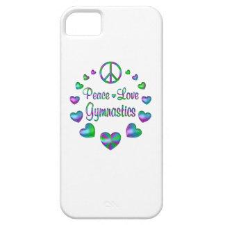 Gymnastique d'amour de paix coques iPhone 5