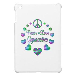 Gymnastique d'amour de paix coques pour iPad mini