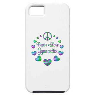 Gymnastique d'amour de paix étui iPhone 5