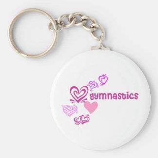 Gymnastique d'amour porte-clés