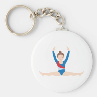 Gymnastique Porte-clé Rond