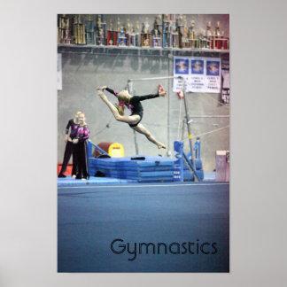 Gymnastique Poster