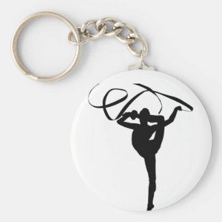 Gymnastique rythmique - ruban porte-clés