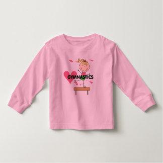 GYMNASTIQUE - T-shirts blonds de faisceau