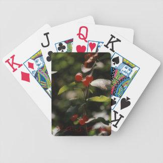 H.A.S. Cartes de jeu rouges de baie d'arts Cartes À Jouer