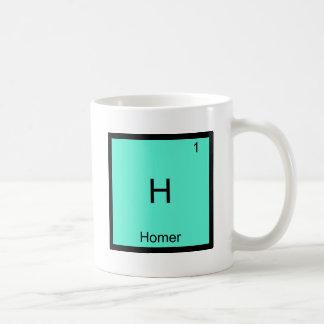 H - T-shirt drôle de symbole d'élément de chimie Mug Blanc