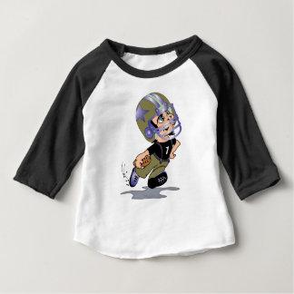 Habillement américain de bébé de JOUEUR de T-shirt Pour Bébé