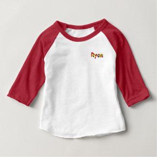 Habillement américain de Ryan 3/4 T-shirt de